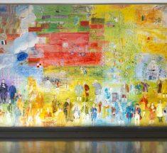 La fée électricité de Raoul Dufy, une œuvre gigantesque en hommage à l'électricité