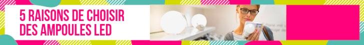 5 raisons de choisir des ampoules LED