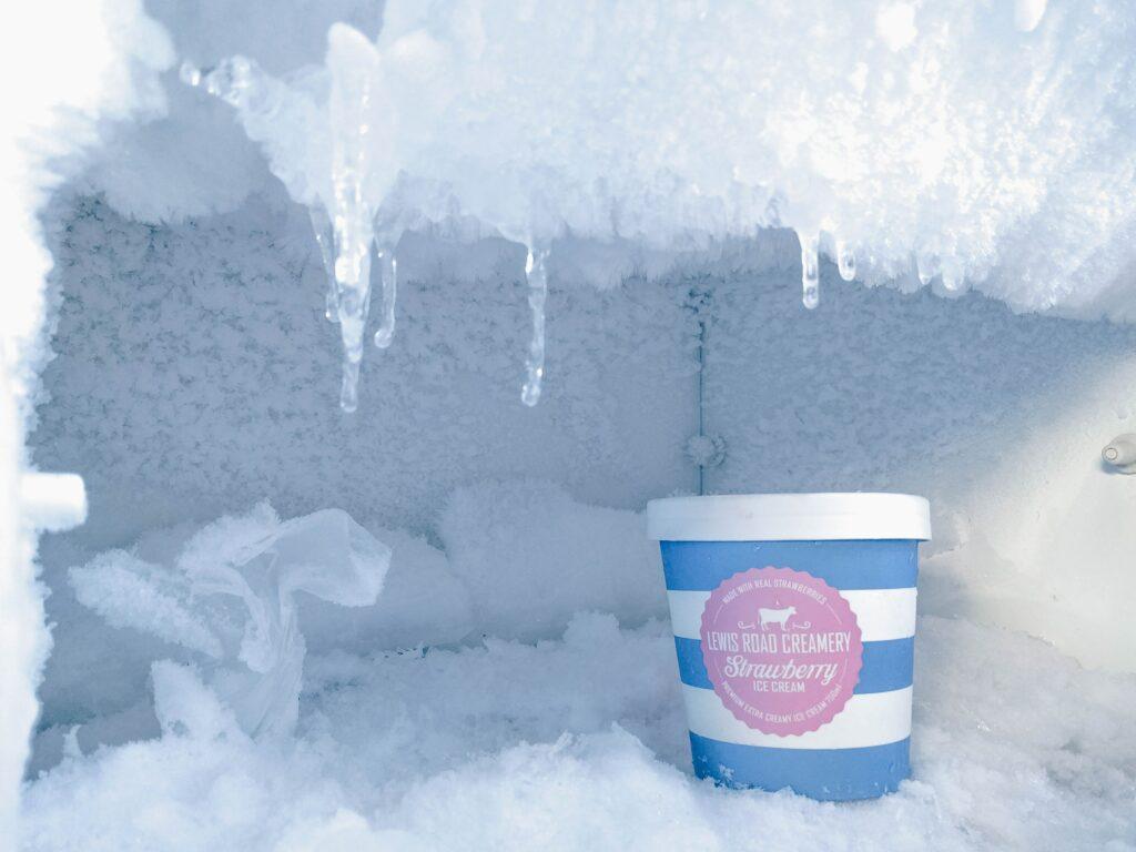 écogestes dégivrer le frigo