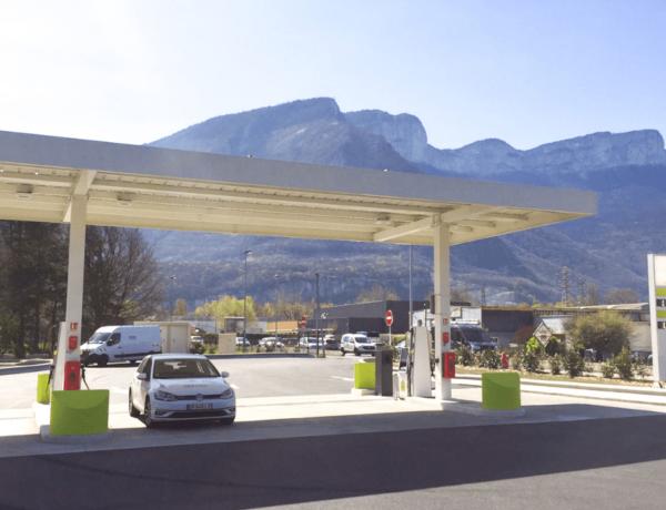 GEG inaugure sa 5ème station GNC – BioGNC à Saint-Egrève !