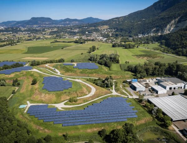 La Buisse : 29ème centrale photovoltaïque de GEG, inaugurée en Isère !